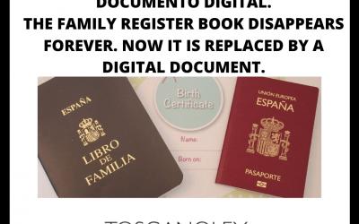 EL LIBRO DE FAMILIA DESAPARECE
